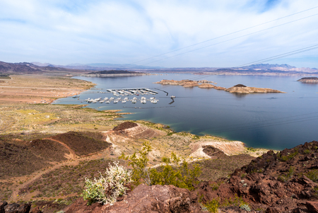 Lake Mead Recreation Area in Nevada and Arizona USA