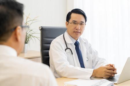 Zwei Ärzte Beratung