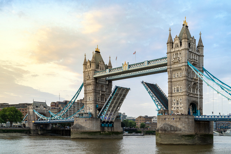 London Tower Bridge in London England UK