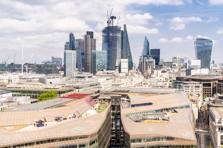 London downtown cityscape skylines building in London England UK Reklamní fotografie