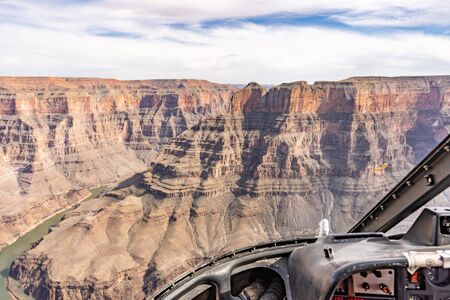 West rim of Grand Canyon in Arizona USA