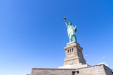 The Statue of Liberty in New York City NYC USA