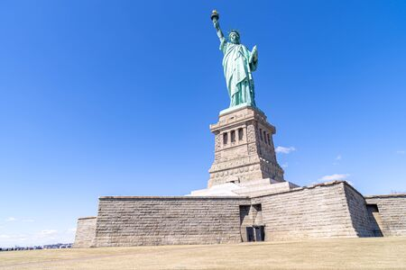The Statue of Liberty in New York City NYC USA Stockfoto - 133375587