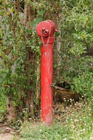 heavy: Fire hydrant Stock Photo