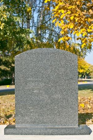 empty tomb: grave stone
