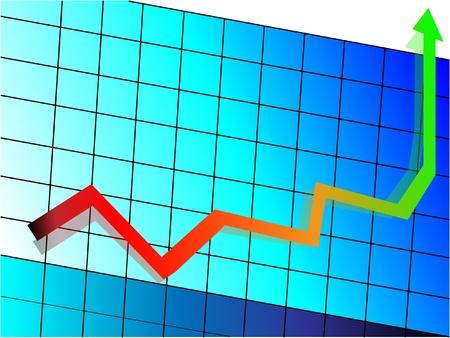 decline: graph