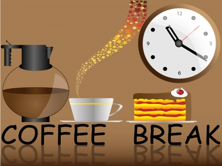 coffee break Stock Vector - 11143661