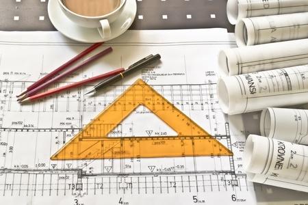 architectural project Standard-Bild