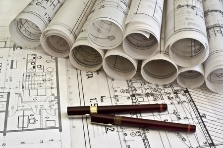 architectural plan blueprints