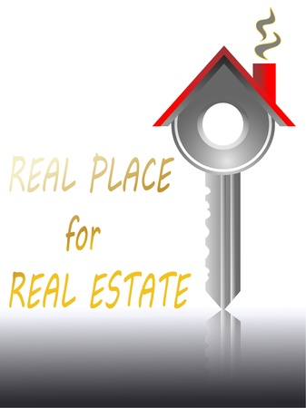 let on: real estate house key