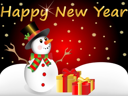 happy new year Stock Vector - 11664639