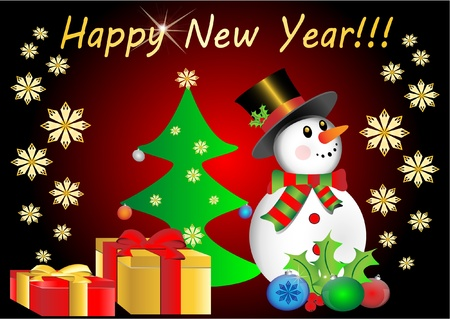 happy new year Stock Vector - 11664640