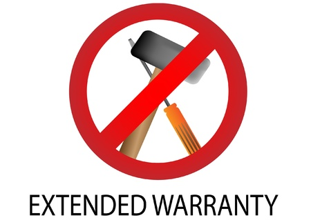 best security: guarantee sign, warranty label