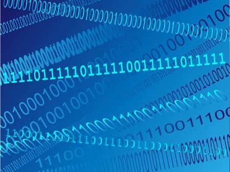 abstract binary code Vector