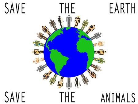 save the animals Stock Vector - 11817833