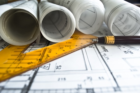 architectural plan photo