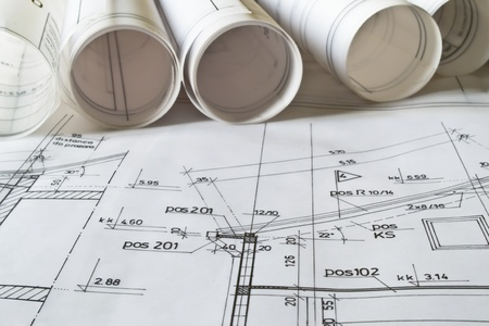 architectural plan Stock Photo - 12425934
