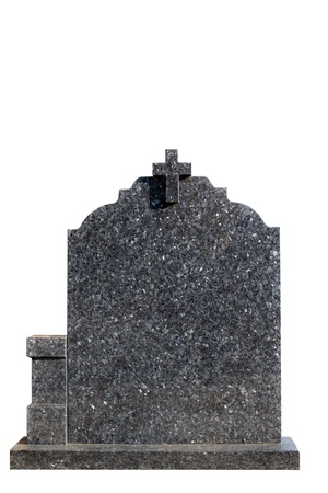 Blank gravestone, ready for an inscription photo