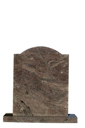 stone tablet: Blank gravestone, ready for an inscription