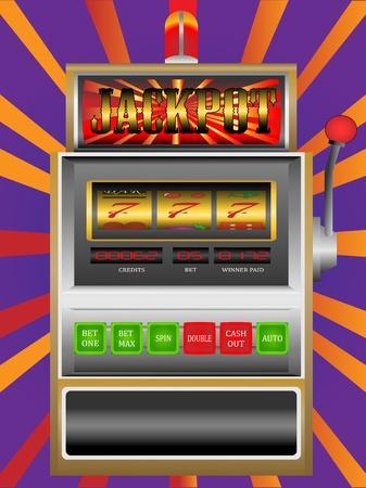maquinas tragamonedas: máquina tragamonedas del casino Vectores