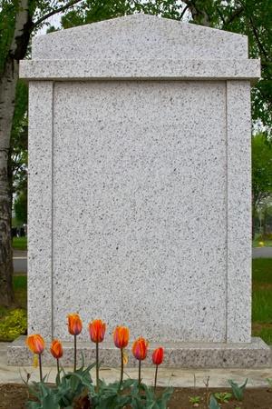 비문에 대 한 준비가 빈 묘비, 스톡 콘텐츠 - 13181623