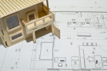 architectural blueprints Stock Photo - 13496258