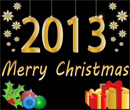 Christmas background vector illustration Stock Vector - 16123138