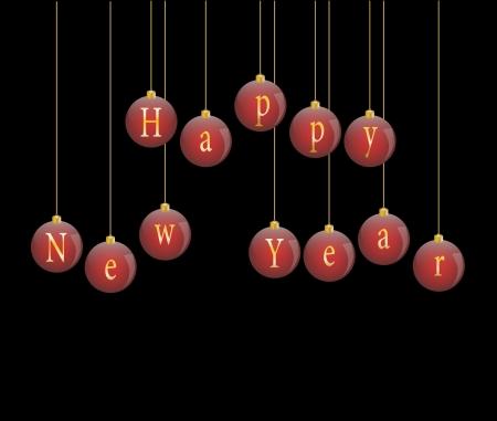 Happy new year 2013 vector illustration Stock Vector - 16123120