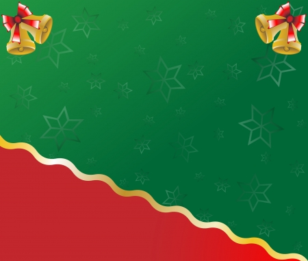 Christmas card background  illustration Vector