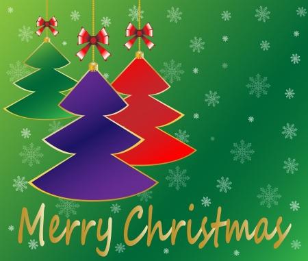 Christmas background illustration Stock Vector - 16886588