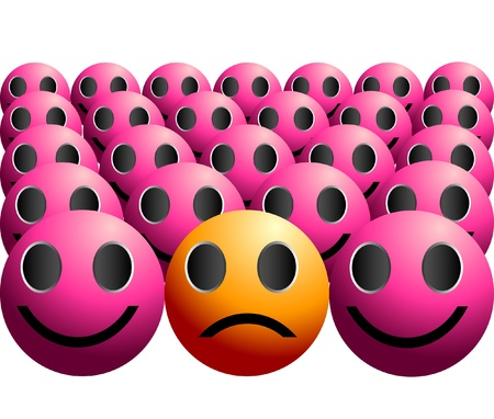 슬픔 우울 슬픈 반사회적 그림 개념