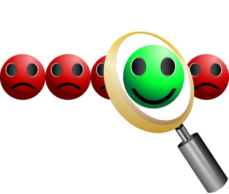 search Employee Icon for Recruitment Agency Magnifier Vector