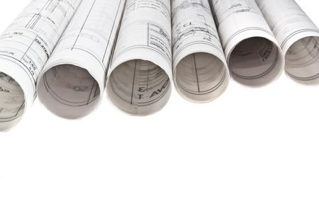 건축 도면 청사진 프로젝트