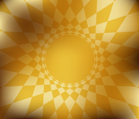 amber light: abstract gold background texture  illustration Illustration