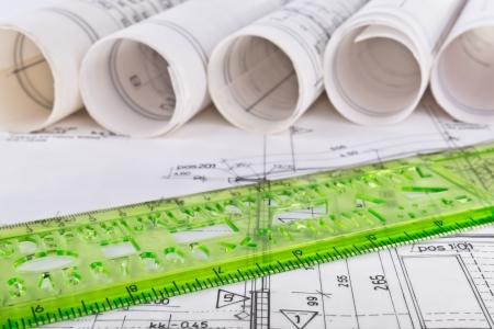 건축 청사진 기술 프로젝트 도면 스톡 콘텐츠