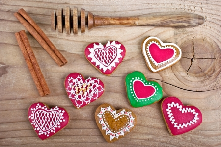 sugarcoat: Delicious homemade Christmas gingerbread cookies on wood