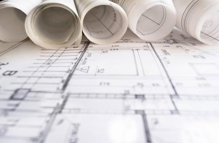 dibujo tecnico: Proyecto del arquitecto dibujo plano