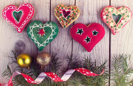 sugarcoat: christmas gingerbread Stock Photo