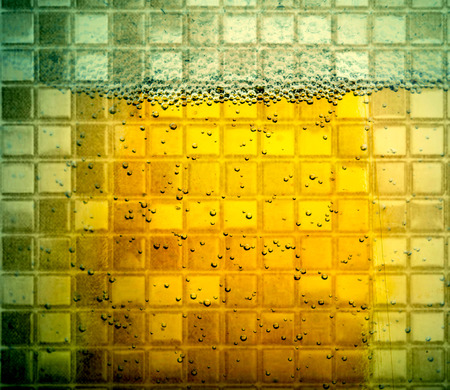 abstract liquor: abstract background beer glass bubbles night life