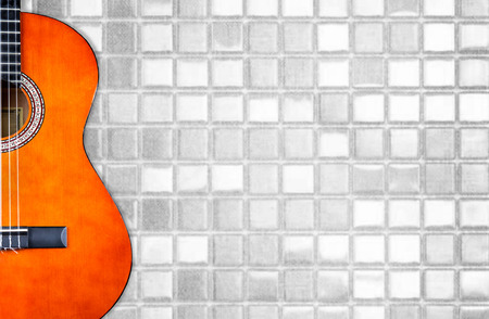 accoustic: acoustic guitar abstract effect photo Stock Photo