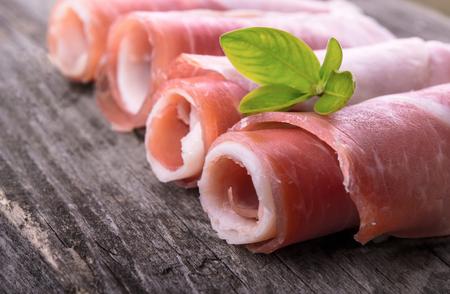 delicacy: Prosciutto ham delicacy