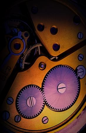oxidado: mecanismo de reloj de bolsillo