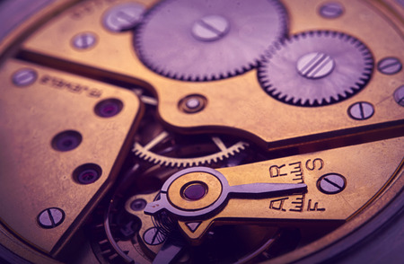time machine: pocket watch mechanism