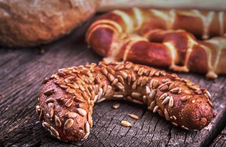 baked goods bakery products 版權商用圖片