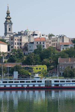 serbia: Belgrade Serbia Danube river cruising