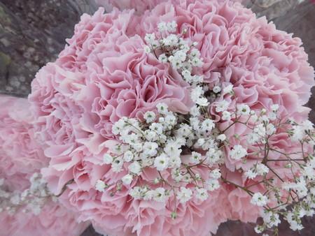 Pink Wedding Flowers Stok Fotoğraf