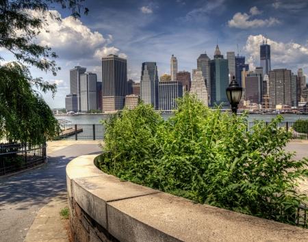 Brooklyn Promenade to Manhattan