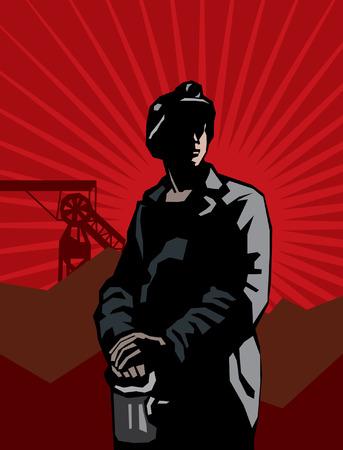 kopalni: Portret górnika węgla