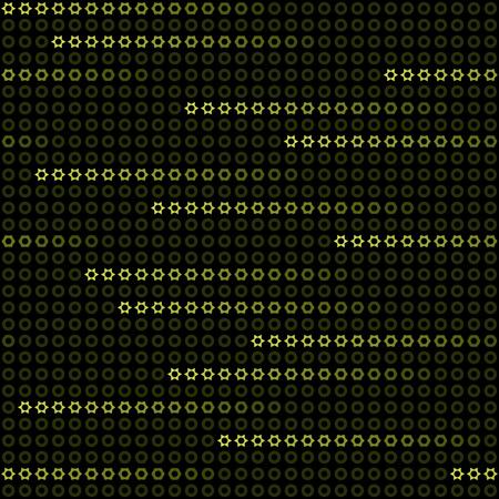 nahtlose Hintergrund mit Neon-Sterne fallen