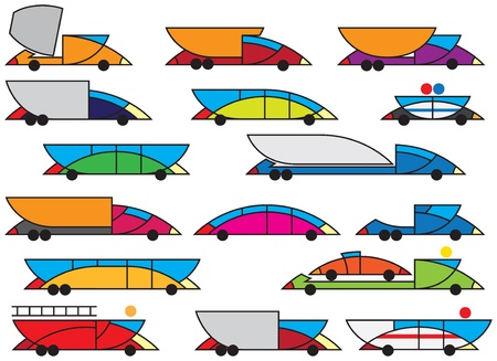 schoolbus: special city transportation and equipment vector illustration and design elements